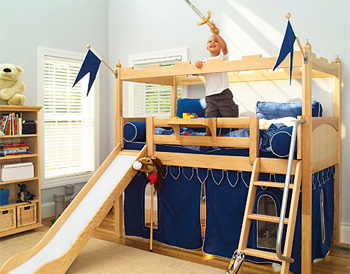 Maxtrix boys castle knight bed