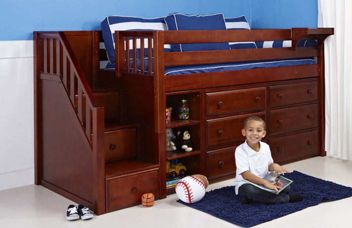 Safe Loft Beds for Kids - The Bedroom Source